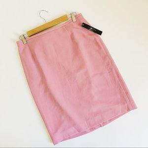 Tahari Pink Rose Career Skirt Office Wear